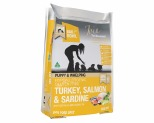 MEALS FOR PUPS TURKEY SALMON AND SARDINE HYPOALLERGENIC GLUTEN FREE 9 KG