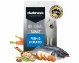 BLACK HAWK ADULT FISH AND POTATO 10KG