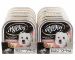 MY DOG BEEF & CHEESE 100G (12PK)