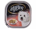 MY DOG 100GM BEEF & CHEESE