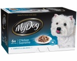 MY DOG 100GM CHEF SELECT CHICKEN SUPREME (6PK)