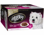 MY DOG 100GM MULTI GOURMET BEEF X12