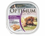 OPTIMUM PUPPY CHICKEN RICE VEGETABLE 100G