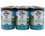 ZIWIPEAK DOG CAN MACKEREL & LAMB 390GX12