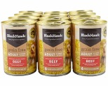 BLACK HAWK DOG GRAIN FREE BEEF 400GX12