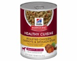 HILL'S SCIENCE DIET HEALTHY CUISINE DOG ADULT CHICKEN & CARROT STEW 354G