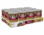 HILL'S SCIENCE DIET HEALTHY CUISINE WET DOG FOOD ROASTED CHICKEN, CARROTS & SPINACH STEW ADULT CAN 12X354G**
