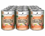 IVORY COAT GRAIN FREE WET DOG FOOD CHICKEN AND COCONUT STEW ADULT CANNED 12 X 400G