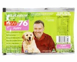 VETS ALL NATURAL RAW76 PUPPY 800G (NOT AVAILABLE IN WA)~