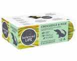 BALANCED LIFE LID CROCODILE & RICE DOG ROLL 2X650G CHILLED