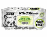 ABSORB PLUS ANTIBACTERIAL PET WIPES - ALOE VERA 80 SHEETS