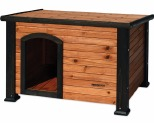PRECISION OUTBACK LOG CABIN LARGE BROWN~**