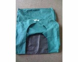 HOUND HOUSE KENNEL REPLACEMENT HOOD GREEN MEDIUM