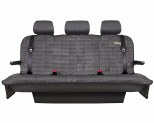 EZYDOG DRIVE SEAT COVER REAR - CHARCOAL