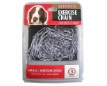 MASTERPET EXERCISE CHAIN 3 METRE 2.8MM