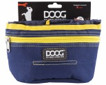 DOOG TREAT POUCH NAVY & YELLOW LRG