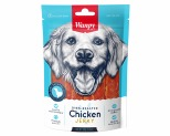WANPY DRY CHICKEN JERKY STRIPS 100G