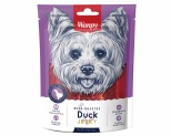 WANPY DOG TREATS DRY DUCK JERKY 454G
