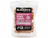 BLACKDOG CHICKEN FILLED PORK TWIST 15CM 1KG