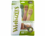 WHIMZEES VEGGIE 48 PACK TOOTHBRUSH STAR EXTRA SMALL