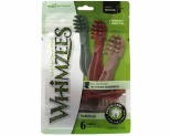 WHIMZEES VEGGIE 6 PACK TOOTHBRUSH STAR LARGE