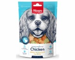 WANPY DOG TREATS CHICKEN & BISCUITS 100G