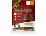 WHIMZEES CHRISTMAS SNOWMAN/TREE STICKS LARGE 7 PACK