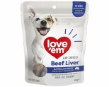 LOVE EM AIR DRIED BEEF LIVER 90G