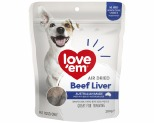 LOVE EM AIR DRIED BEEF LIVER 200G