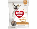 LOVE EM CHICKEN MINI TREATS 200G