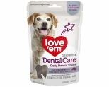 LOVE EM DENTAL STICKS MEDIUM/LARGE 145G