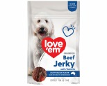 LOVE EM BEEF AND TOMATO JERKY 200G