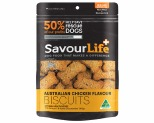 SAVOURLIFE AUSTRALIAN CHICKEN FLAVOURED BISCUITS 500G