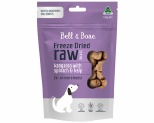 BELL AND BONE FREEZE DRIED KANGAROO & SPINACH 100G