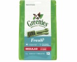 GREENIES FRESHMINT DOG DENTAL CHEWS REGULARS 340G