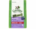 GREENIES BLUEBERRY DOG DENTAL CHEWS REGULAR 340G