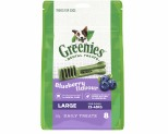 GREENIES BLUEBERRY DOG DENTAL CHEWS LARGE 340G