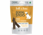BELL & BONE DENTAL STICK DUCK MINT & CINNAMON MEDIUM