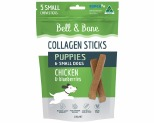 BELL AND BONE COLLAGEN CHEW STICKS FOR PUPPIES AND SMALL DOGS - CHICKEN