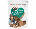 LOVE EM LIVER COOKIES LINSEED SOY & ROSEMARY 450GM