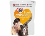LOVE EM LIVER COOKIES SOY & WHOLEMEAL 450GM