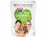 LOVE EM LIVER COOKIES LAMB & MINT 450GM