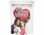 LOVE EM COOKIE MINI CHICKEN & CRANBERRY 300G