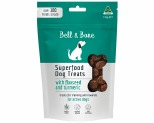 BELL AND BONE SUPERFOOD DOG TREATS WITH FLAXSEED AND TURMERIC 150G