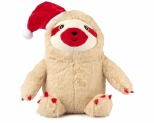 FUZZYARD CHRISTMAS SLOTH SMALL DOG TOY