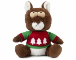 FUZZYARD CHRISTMAS NUTS SQUIRRELL LARGE DOG TOY