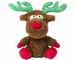 FUZZYARD CHRISTMAS ROCKY THE REINDEER SMALL DOG TOY