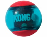 KONG SQUEEZZ ACTION BALL RED SMALL