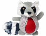 GNAWSOME FOREST FRIEND SMALL RACOON 1 BALL STUFFER