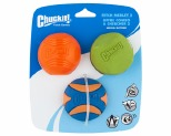CHUCKIT FETCH MEDLEY 2 MEDIUM 3 PACK